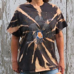 Bowling Green Football Custom Bleach Tee sz L